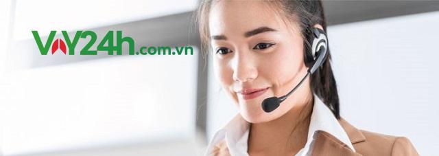 Nhân viên Cash24 gọi điện thoại để xác nhận thông tin