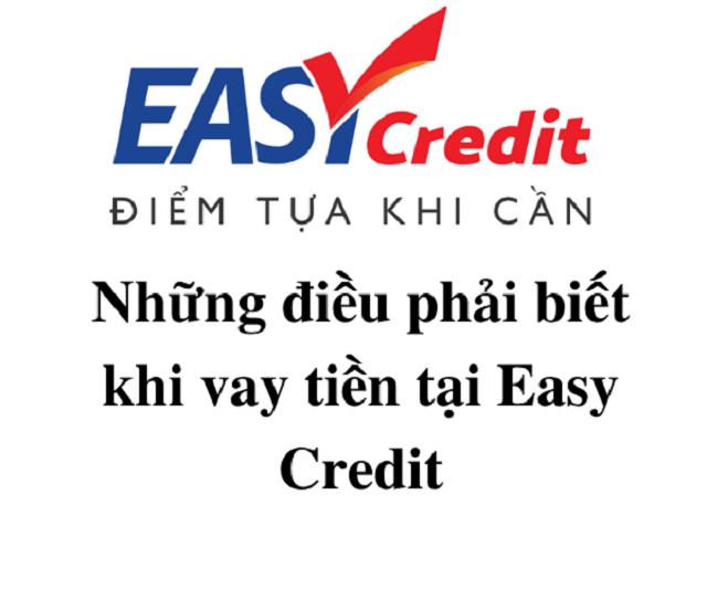 Những câu hỏi thường gặp khi khách hàng vay tín chấp tại Easy credit