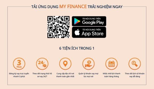 Đăng ký hồ sơ vay online tại Mirae Asset qua ứng dụng My Finance