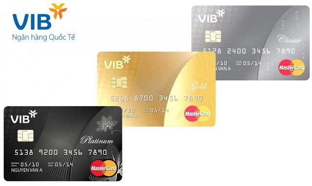 Ngân hàng VIB có những loại thẻ tín dụng nào?