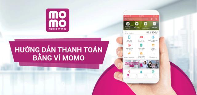 Khách hàng có thể sử dụng ví điện tử Momo để thanh toán hợp đồng vay vốn