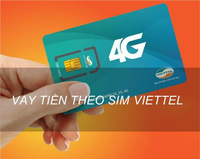 Vay tiền bằng sim Viettel vô cùng đơn giản