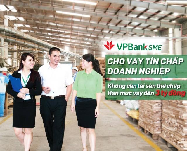 Ngân hàng VPbank cho vay tín chấp