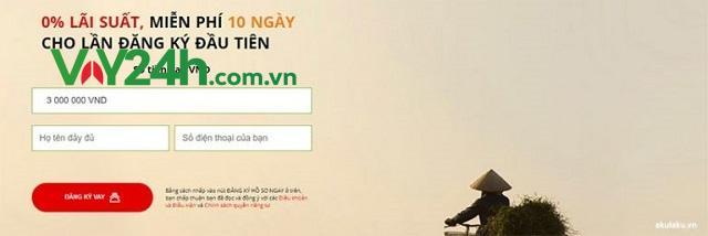 Truy cập vào trang Web của dịch vụ VND