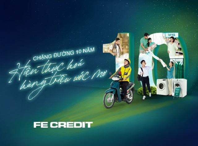 Vay cavet xe tại FE Credit