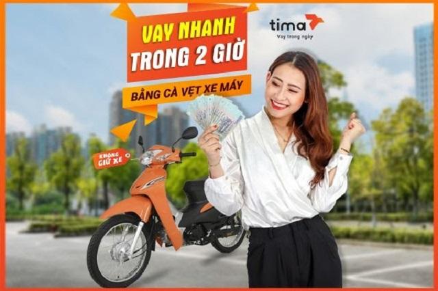Công ty Tina cam kết giải ngân với khách hàng vay cavet xe chỉ sau 2h kể từ khi xét duyệt hồ sơ